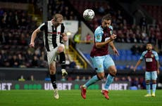 Burnley's Jay Rodriguez eyeing rare Premier League start after four-goal haul in Carabao Cup