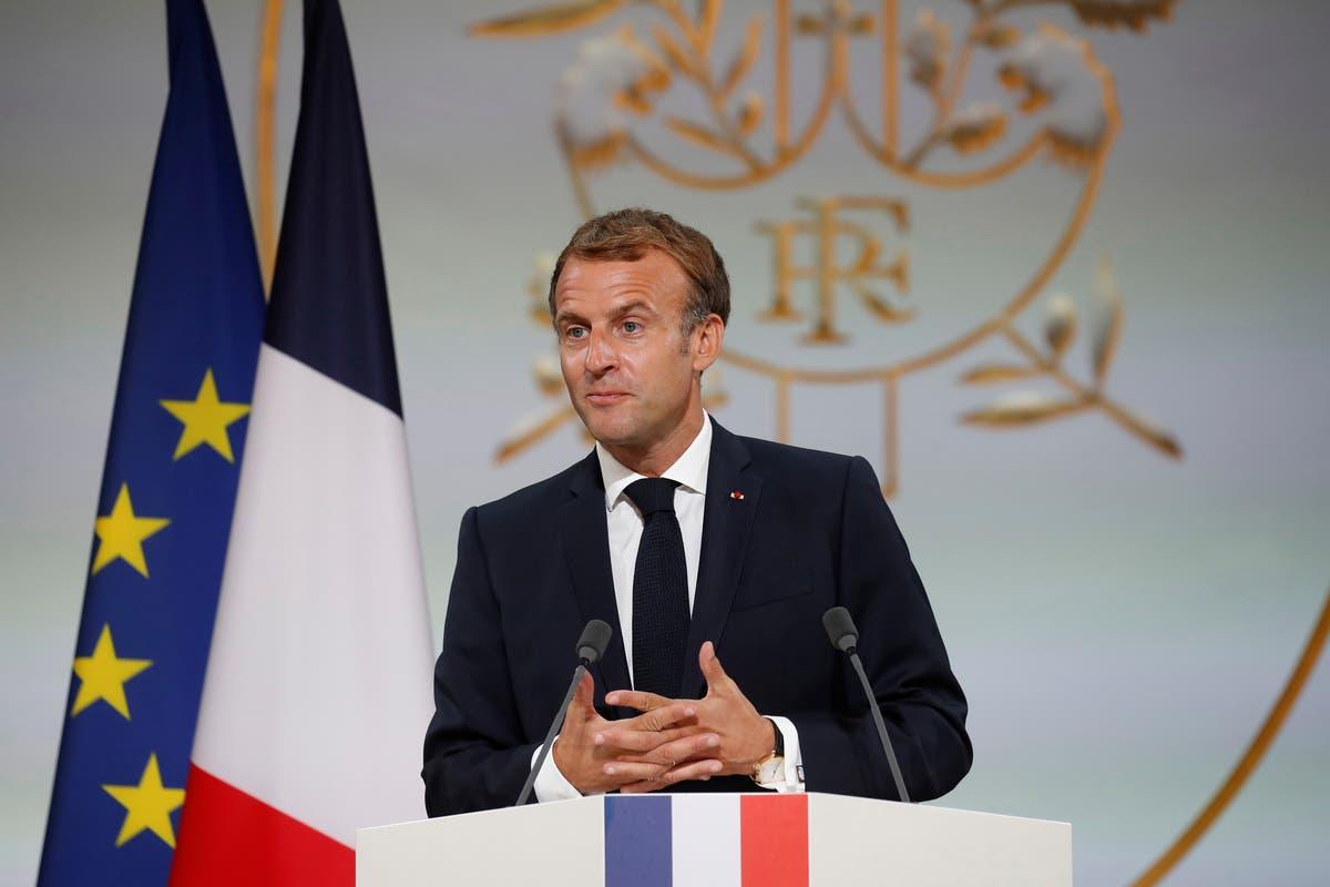 France's Macron expects Biden's