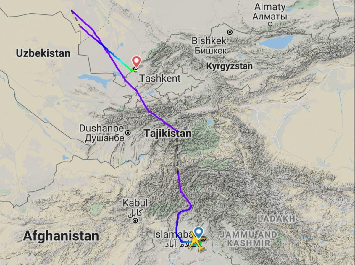 ブリティッシュ・エアウェイズのフライトは、機内での医療緊急事態の後、ウズベキスタンに迂回します