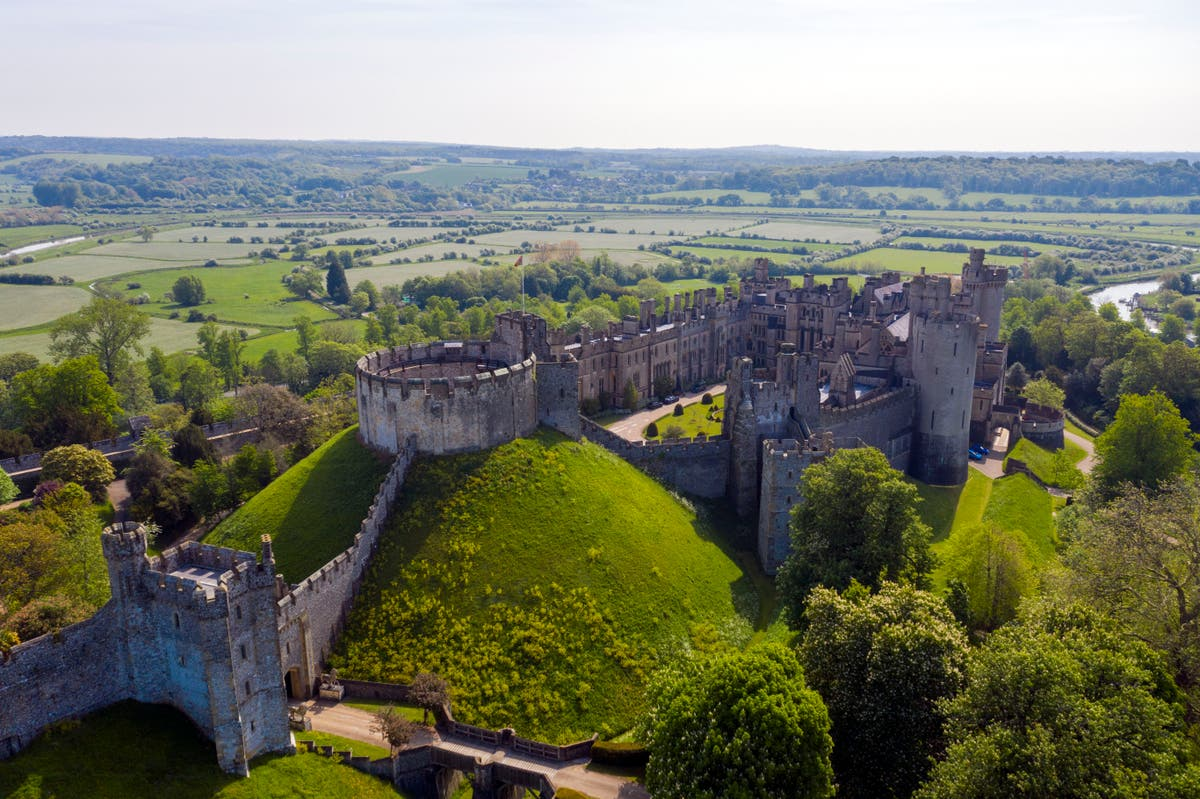 Arundel Castle heist: Man arrested over £1m stolen historic artefacts is released