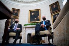 White House denies Biden felt 'upstaged' by Boris Johnson in Oval Office meeting