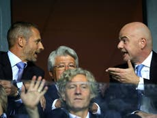 Uefa outlines 'real dangers' with Fifa's plan for biennial World Cups
