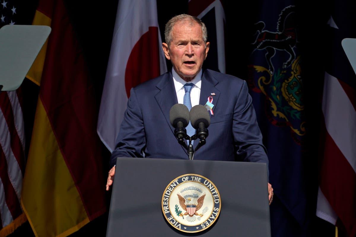 Bush to headline fundraiser for Cheney after Trump backs foe