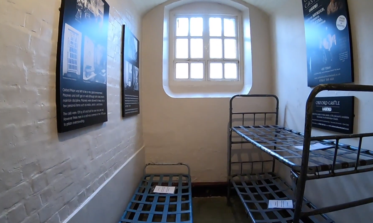 Influencers criticised for photos taken in prison converted into luxury hotel