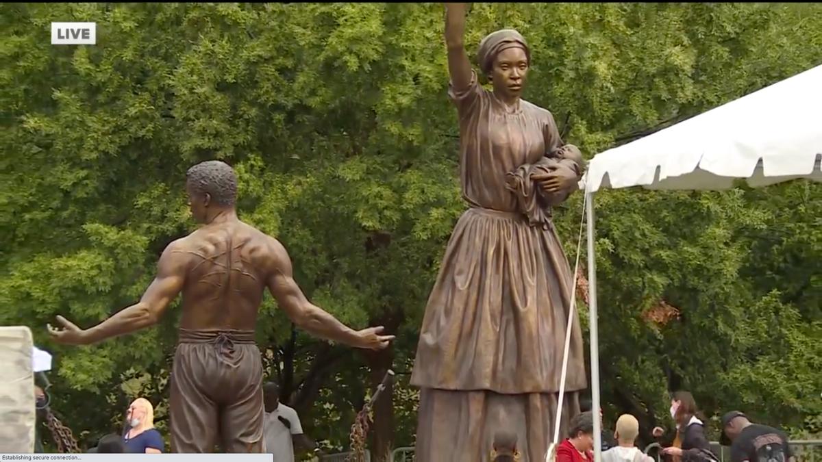 Richmond revela monumento ao fim da escravidão após remover estátua do confederado