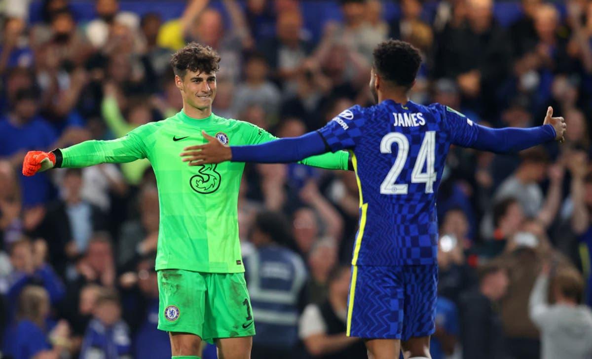 Kepa proves Chelsea's penalty shootout hero again to knock out Aston Villa