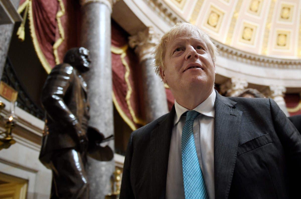 Boris Johnson tells Macron to 'get a grip' over submarine row