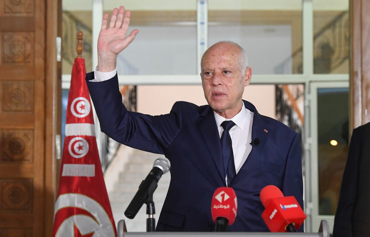Tunisia's Saied strengthens presidential powers in decrees