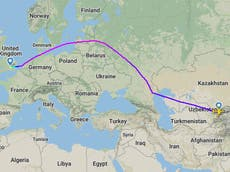 British Airways flight from Pakistan arrives 28 hours late after Uzbekistan diversion