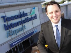 Teesside airport lost £920 for every passenger it handled last year