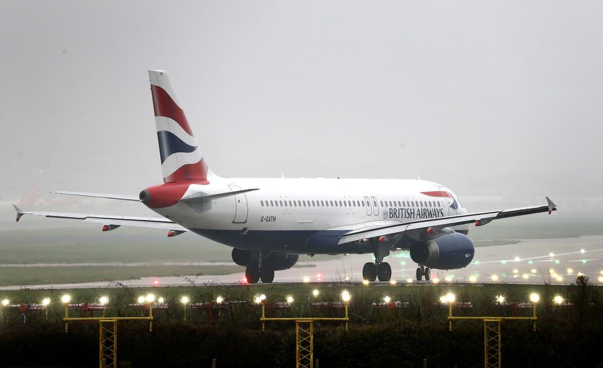 ブリティッシュ・エアウェイズがガトウィック空港からの短距離便を一時停止
