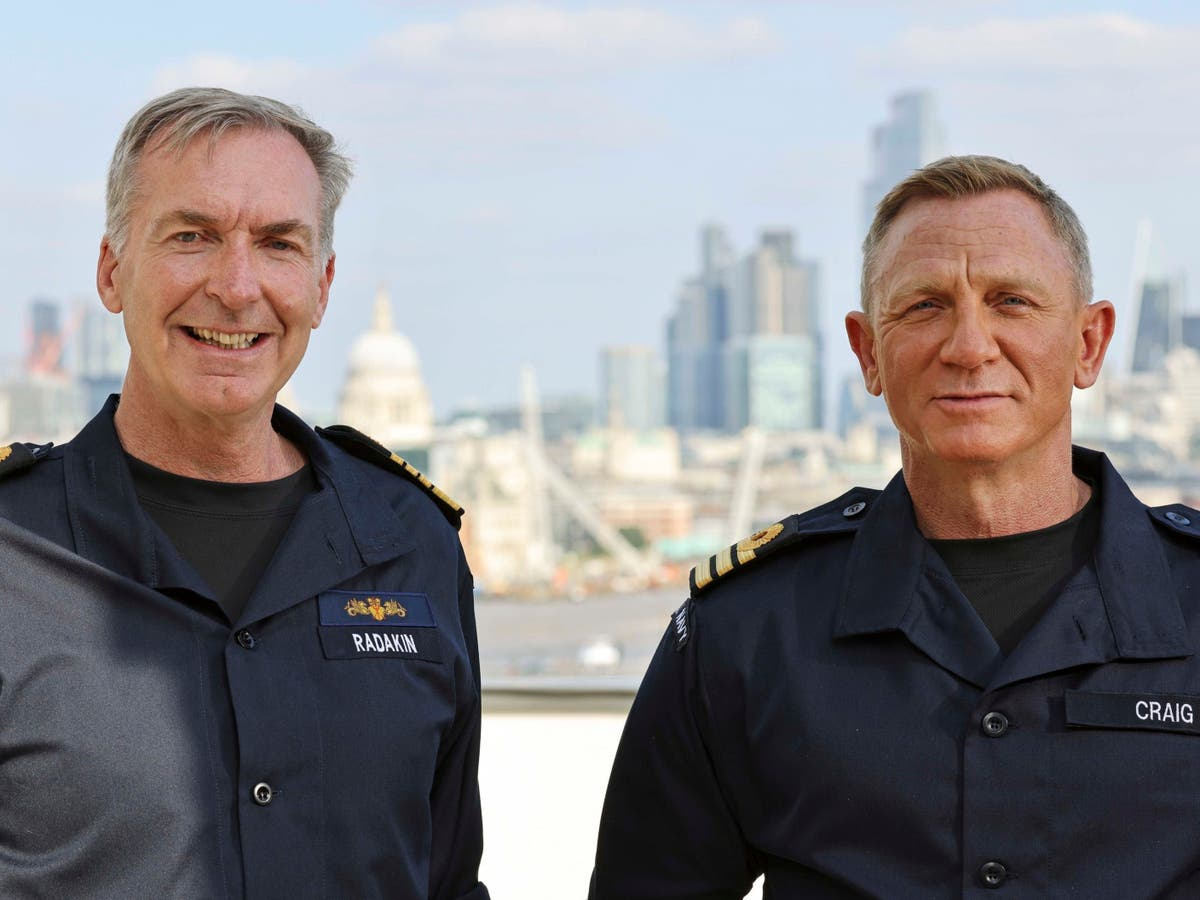Daniel Craig appointed by the Navy to the same rank as James Bond