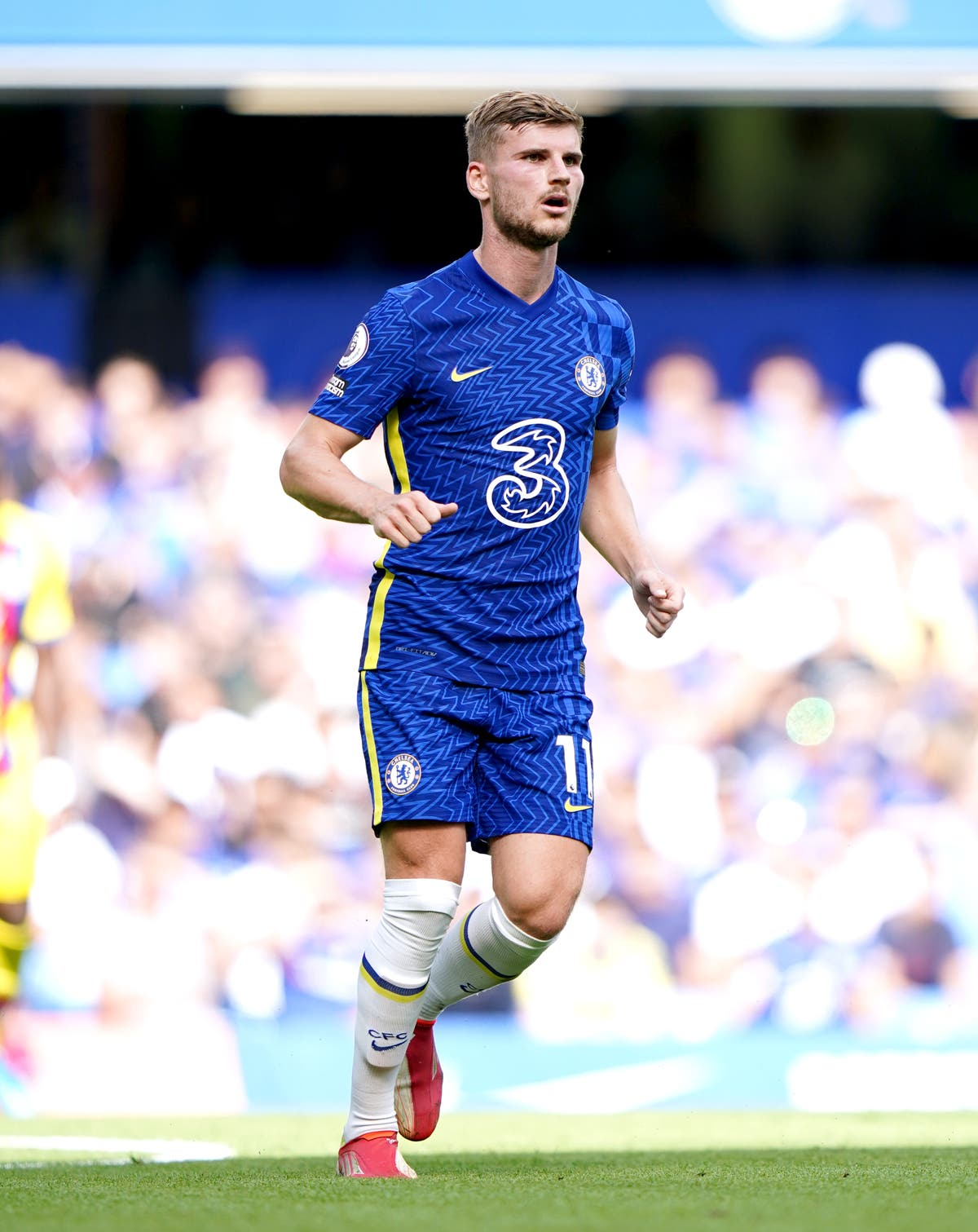 Timo Werner hopes his goal against Aston Villa puts him back on track at Chelsea