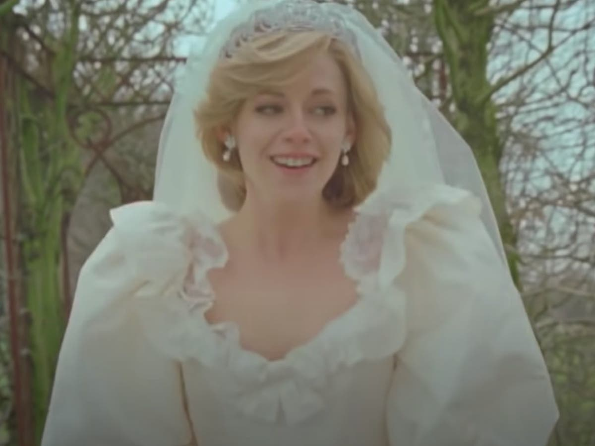 New Spencer trailer shows Kristen Stewart in Diana wedding dress