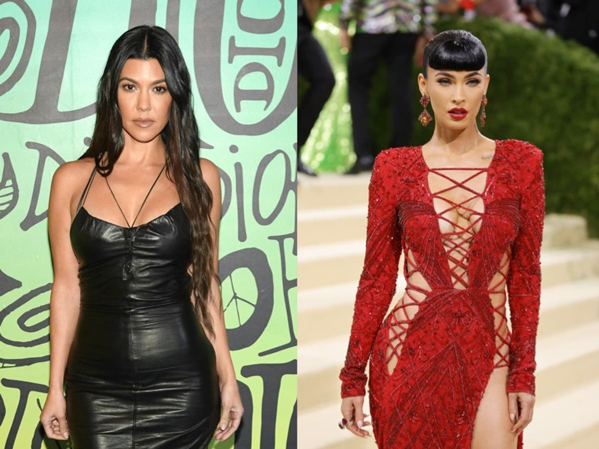 Kourtney Kardashian and Megan Fox accused of copying photos for Skims campaign