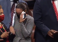 AOC 'cries' after Democrats thwart Squad attempt to defund Israel's Iron Dome