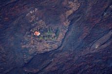 La «maison miracle» des îles Canaries survit d'une manière ou d'une autre à une énorme coulée de lave