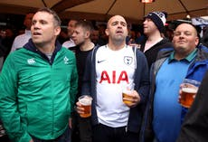 Police warn against relaxing pitchside drinking laws