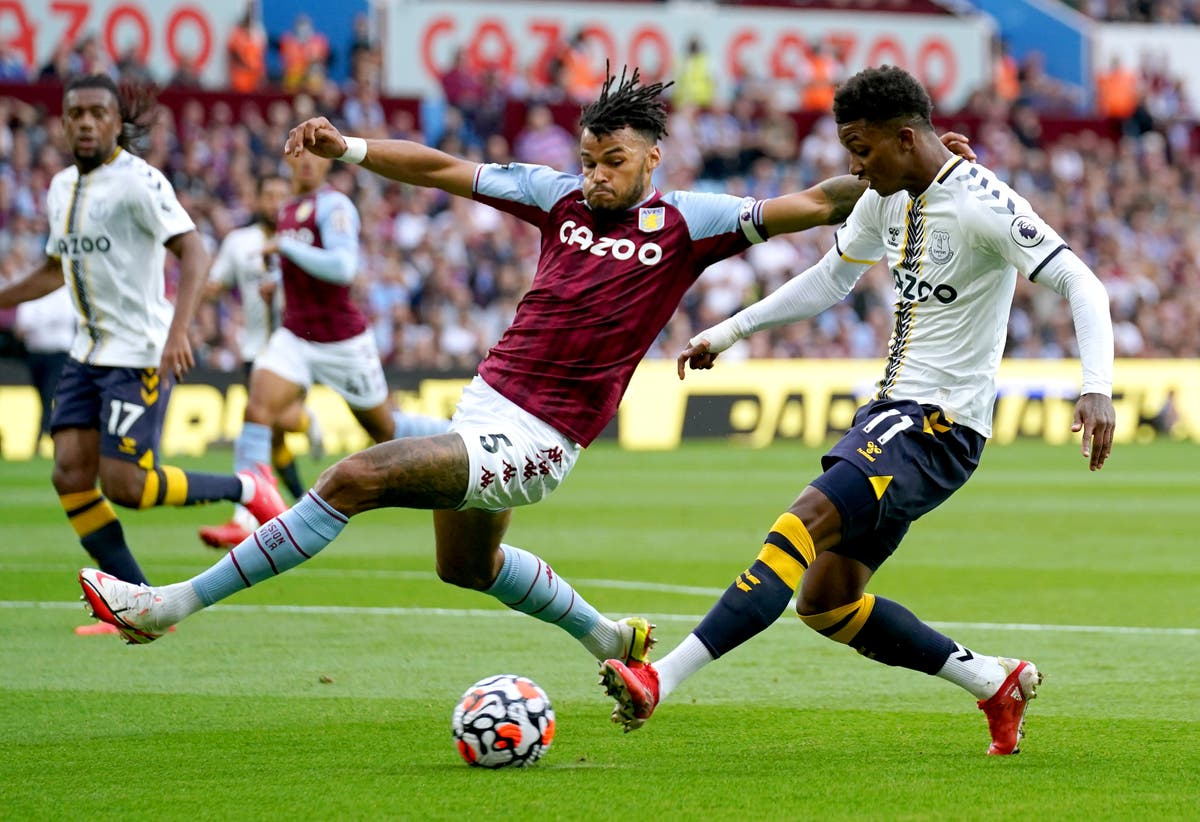 Tyrone Mings excited to test himself against Cristiano Ronaldo as Villa visit United