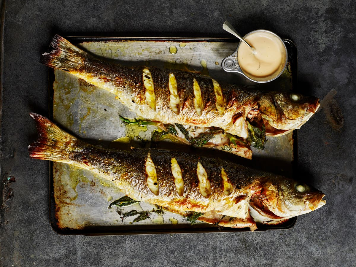 Rick Stein's seabass might look impressive, but it's deceptively simple