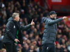 Ole Gunnar Solskjaer accuses Jurgen Klopp of costing Manchester United penalties