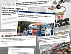 'The kingdom of empty shelves': European newspapers blame Brexit for UK supply chain crisis