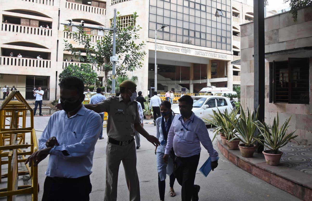 Courtroom shooting leaves 3 dead in Indian capital
