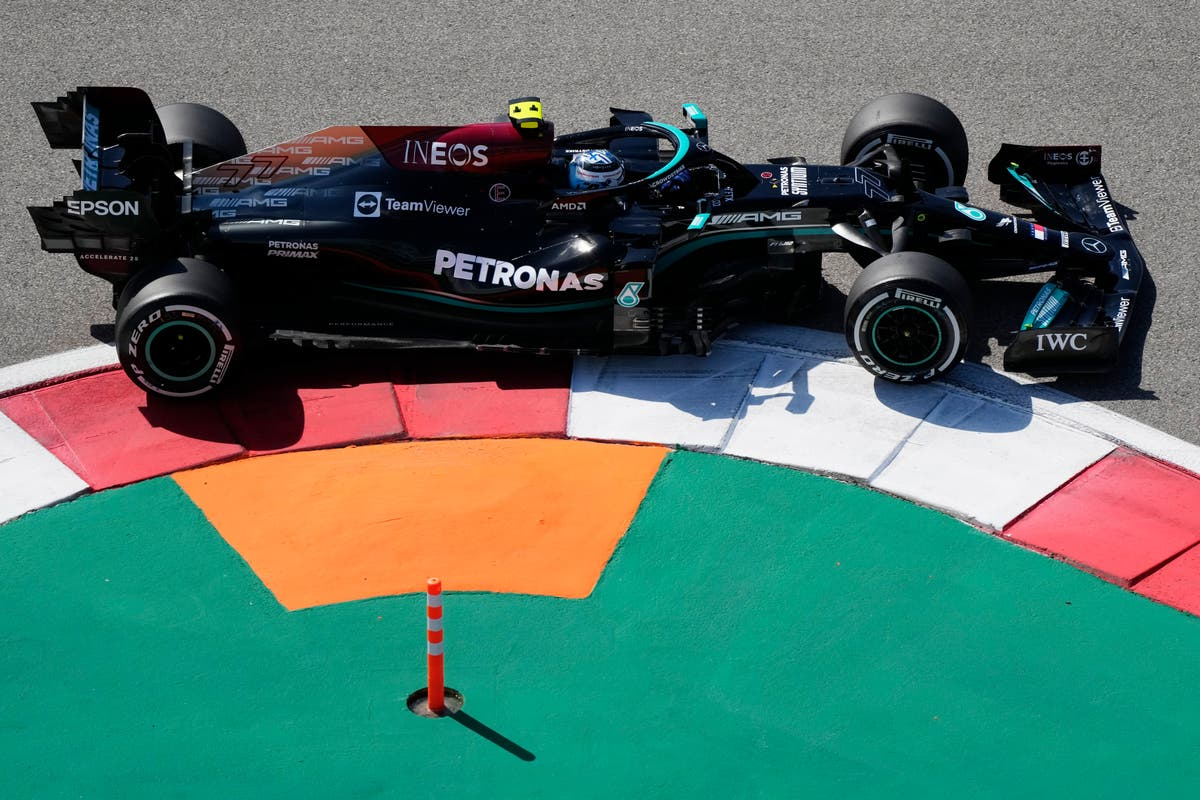 Valtteri Bottas beats Lewis Hamilton in second practice as Russian Grand Prix nears