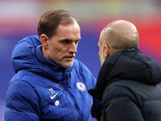 Thomas Tuchel looks beyond Pep Guardiola rivalry with Chelsea prepared to 'suffer' against Man City