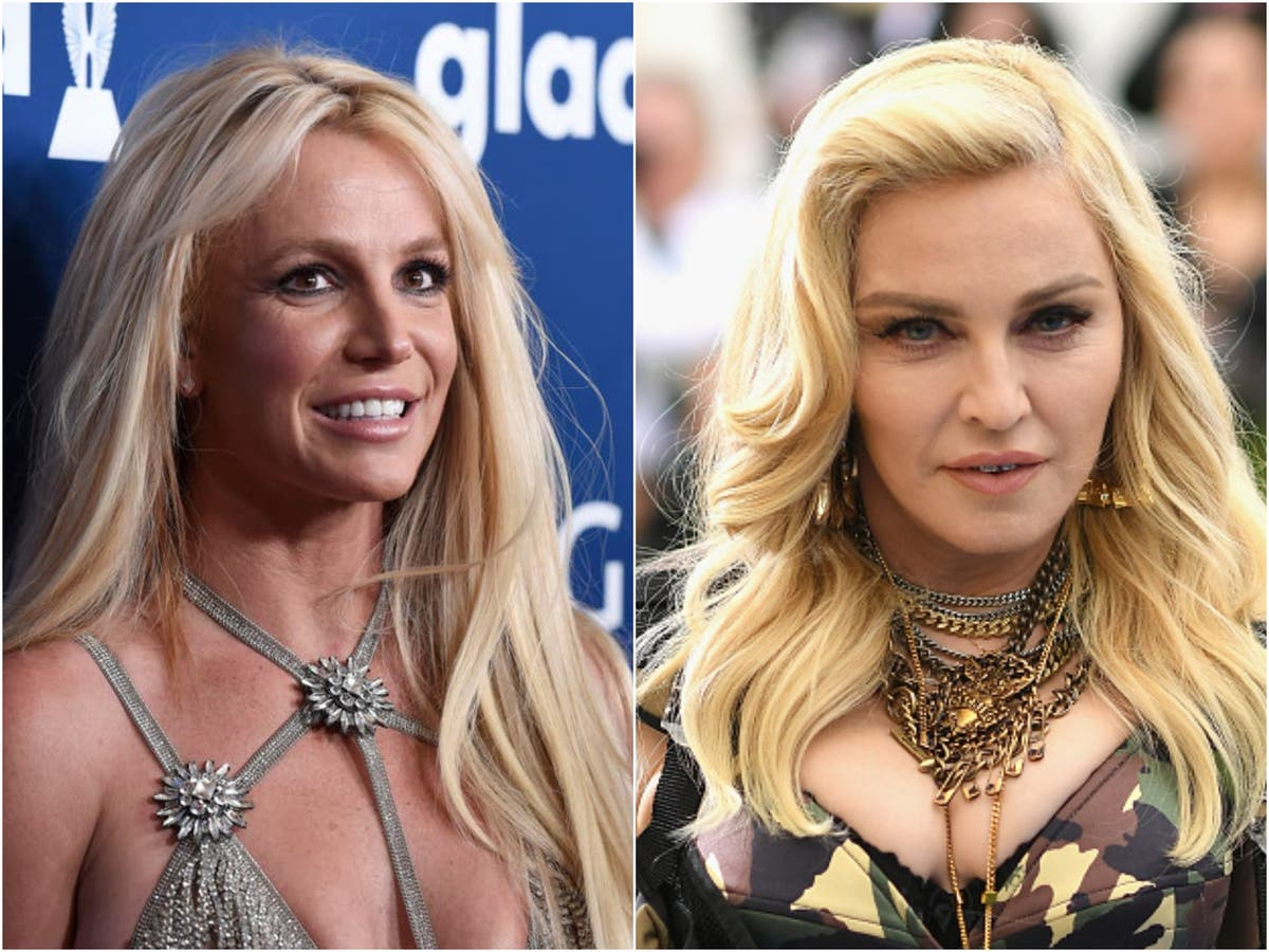 Madonna says she phoned Britney Spears this week to 'check in on her'