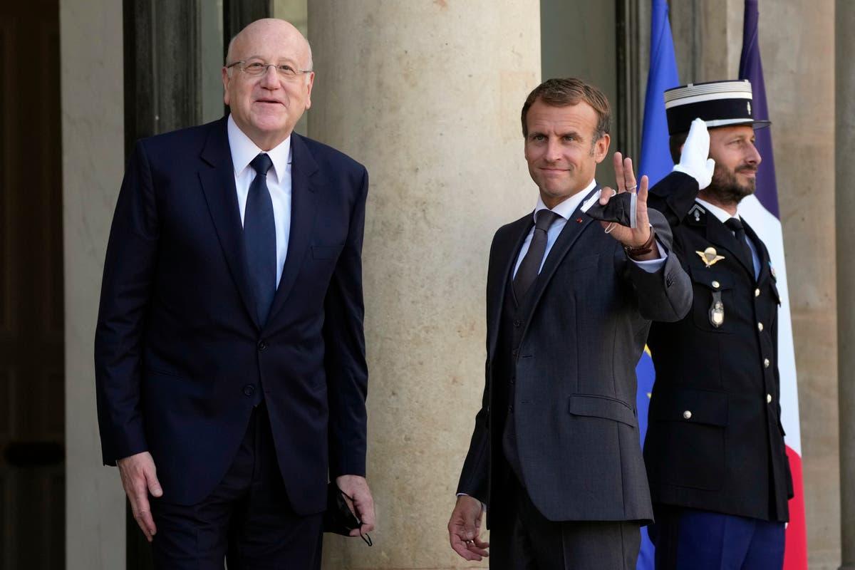 France pledges support for Lebanon's new prime minister