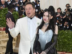 Elon Musk says he and Grimes are 'semi-separated'