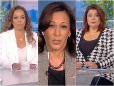 Os apresentadores de 'The View' testam positivo para Covid-19 antes da entrevista com Kamala Harris
