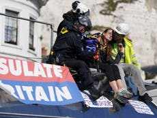 Insulate Britain: Government wins injunction to keep protesters off roads linked to Port of Dover