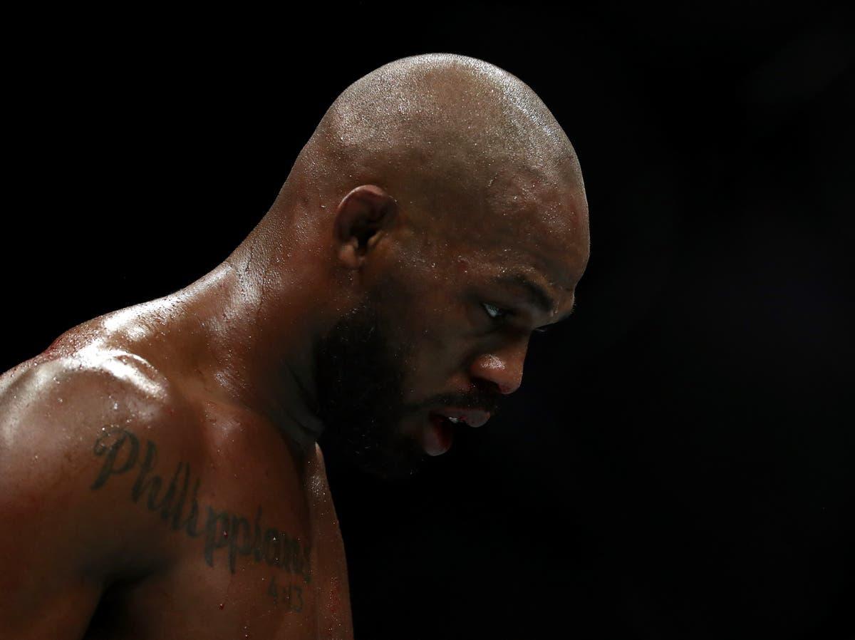 UFC star Jon Jones arrested on alleged domestic violence charge