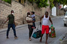 Back in Haiti, expelled migrant family plans to flee again