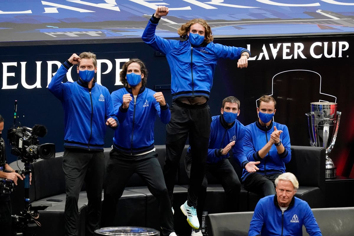 Casper Ruud and Matteo Berrettini give Team Europe early lead in Laver Cup