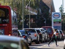 Panic-buyers exacerbating 'temporary' petrol supply crisis, says AA president