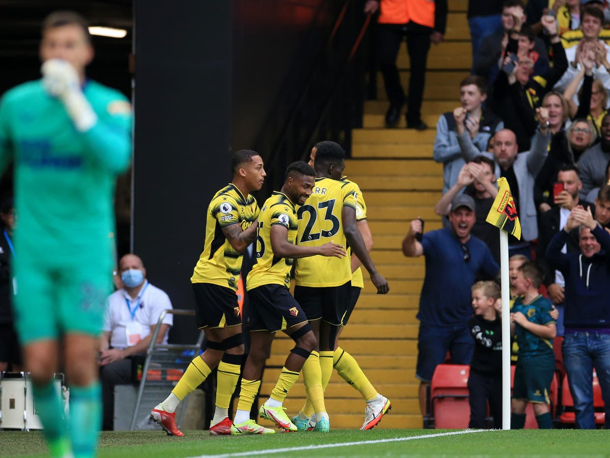 Watford come from behind to earn draw with Newcastle