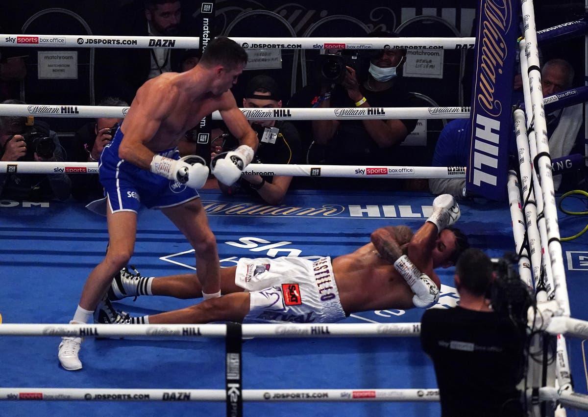 Lenin Castillo rushed to hospital after 'horrible, brutal' knockout