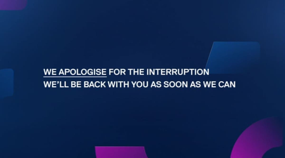 Channel 4 and Channel 5 go off air