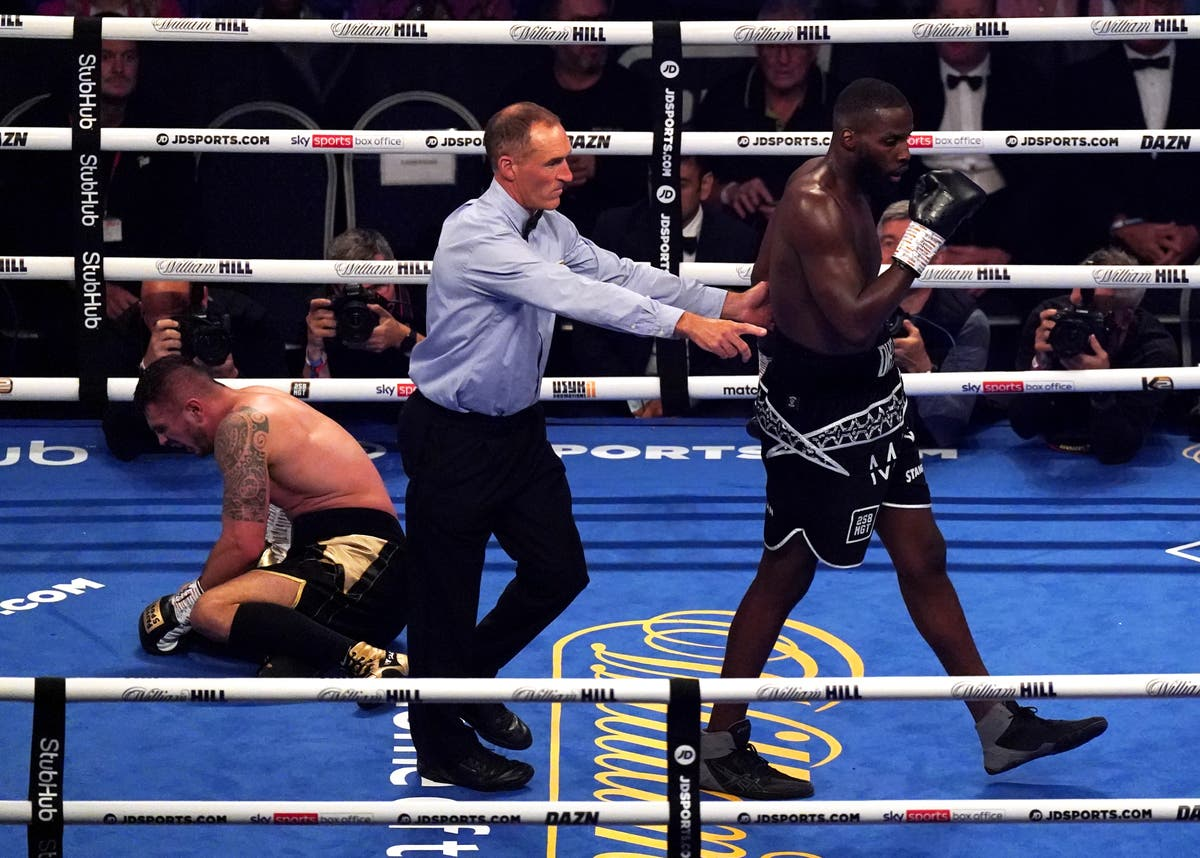 Lawrence Okolie defends cruiserweight title with KO win over Dilan Prasovic