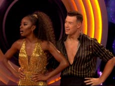 AJ Odudu performs 'best dance of the evening' in Strictly Come Dancing debut