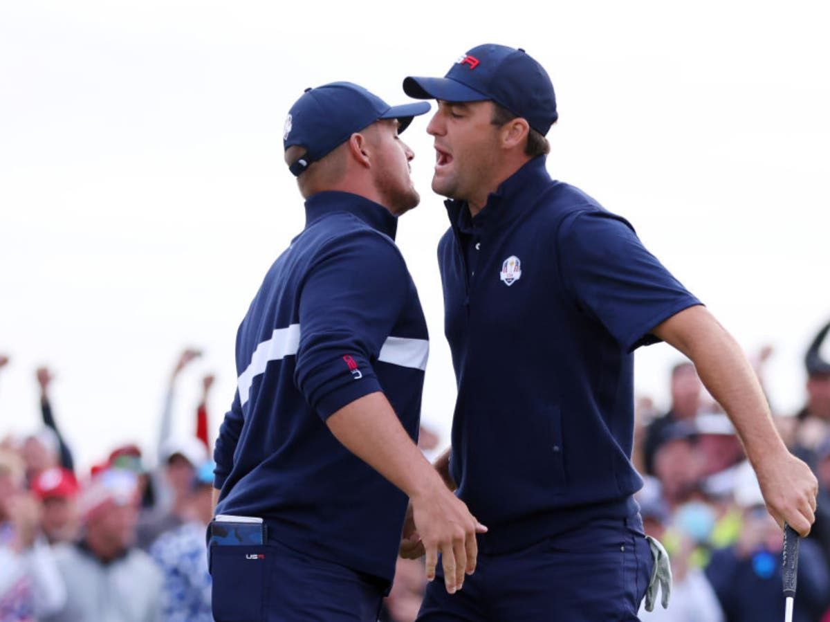 Ryder Cup 2021: USA take 11-5 lead over Europe into Sunday singles