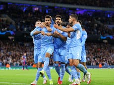 PSG vs Man City line-ups: Team news for Champions League fixture