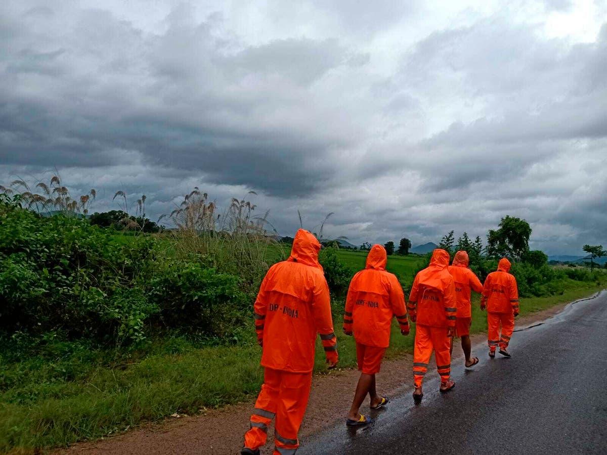 India's eastern coast on high alert as cyclone hits land