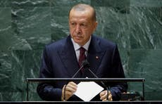 Turkey's Erdogan climbs down from threat to expel 10 ambassadors