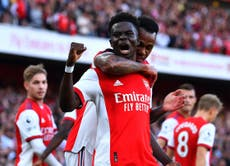 Young Gunners tear Tottenham apart in one-sided north London derby