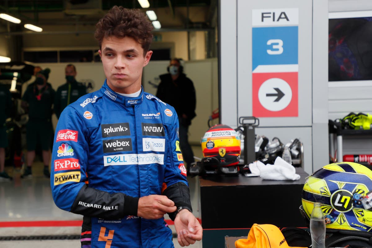Lando Norris 'devastated' as first F1 victory eludes him at Russian Grand Prix