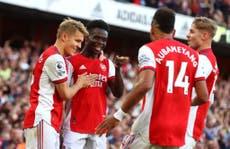 Arsenal vs Tottenham player ratings as Saka and Smith Rowe impress